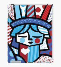 freedon- romero britto iPad Case/Skin