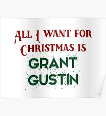 All I want for Christmas is Grant Gustin Poster