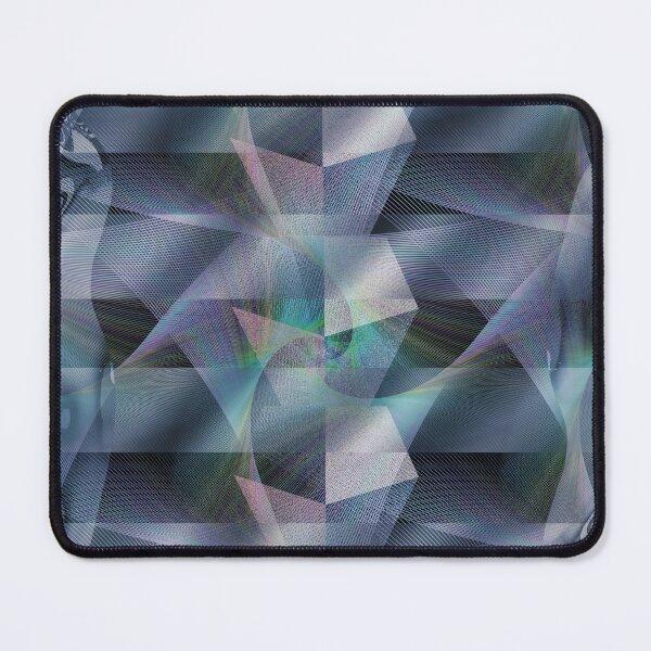 Blue Mercury Shadow Diamond, Ambient Emeralds Mouse Pad