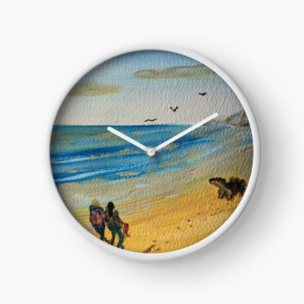 Longmile Beach Dog-run - Oliver Ventures Series 2021 Clock