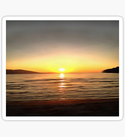 Autumn Sunset Sticker