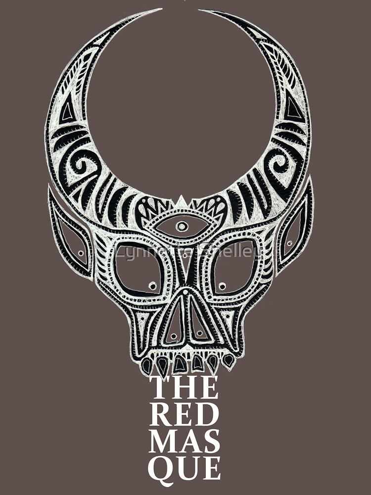 The Red Masque (alternate design) by LynnetteShelley