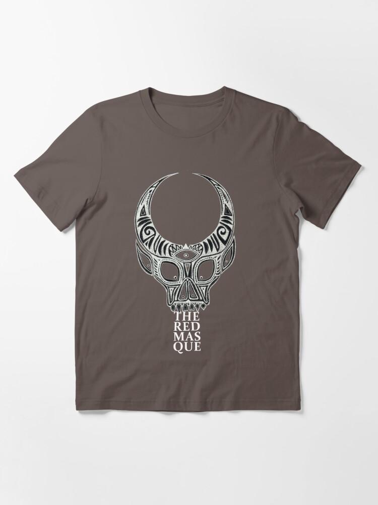 Alternate view of The Red Masque (alternate design) Essential T-Shirt