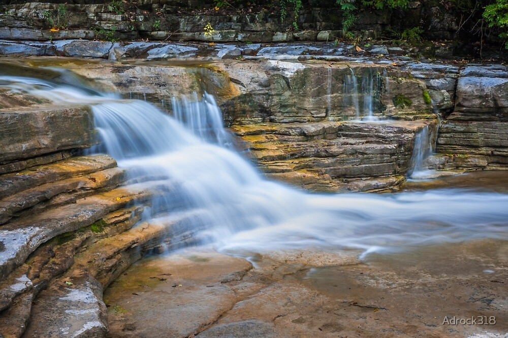 Long Exposure Waterfall by Adrock318