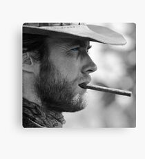 Mr. Eastwood Canvas Print