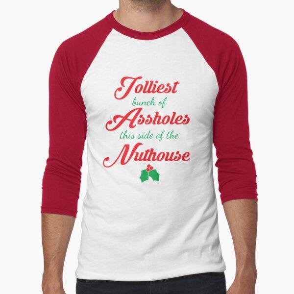 Nuthouse Baseball ¾ Sleeve T-Shirt