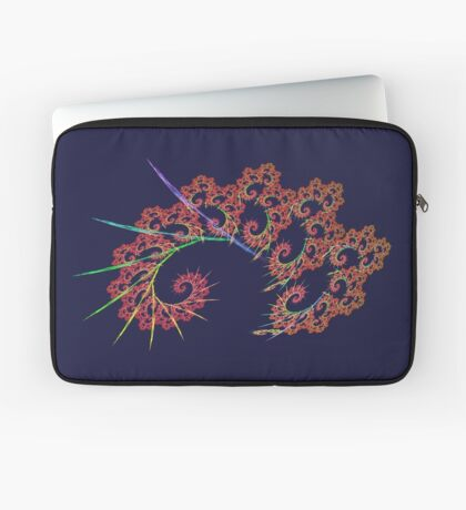 Dangerous #fractal art Laptop Sleeve