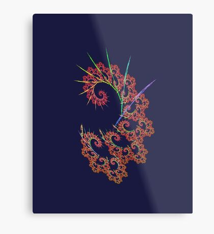 Dangerous #fractal art Metal Print