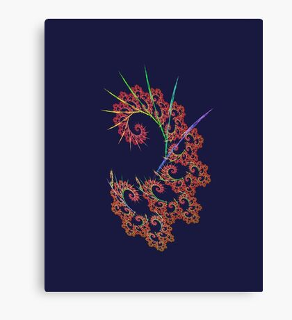 Dangerous #fractal art Canvas Print
