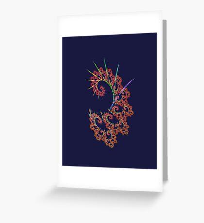 Dangerous #fractal art Greeting Card