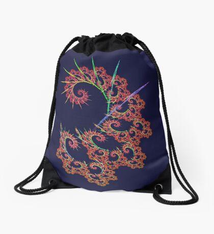 Dangerous #fractal art Drawstring Bag