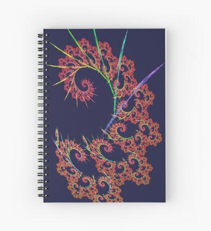 Dangerous #fractal art Spiral Notebook