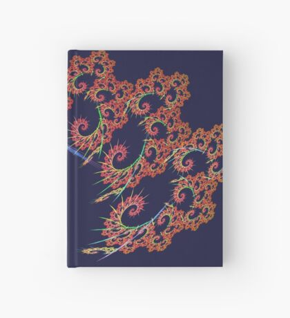 Dangerous #fractal art Hardcover Journal
