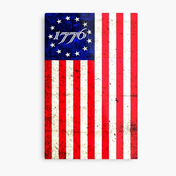 1776 Patriot  Metal Print