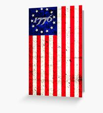 1776 Patriot  Greeting Card