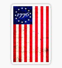 1776 Patriot  Sticker