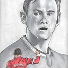 Wayne Rooney by Dea  Marie