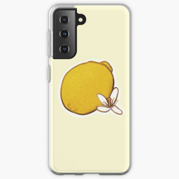 Lemon Blossom Samsung Galaxy Soft Case