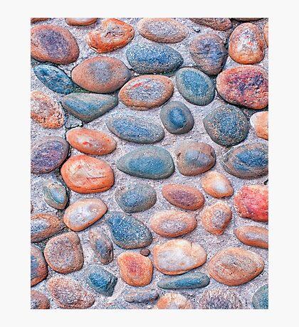 Pebbles - iPad case by Silvia Ganora Photographic Print