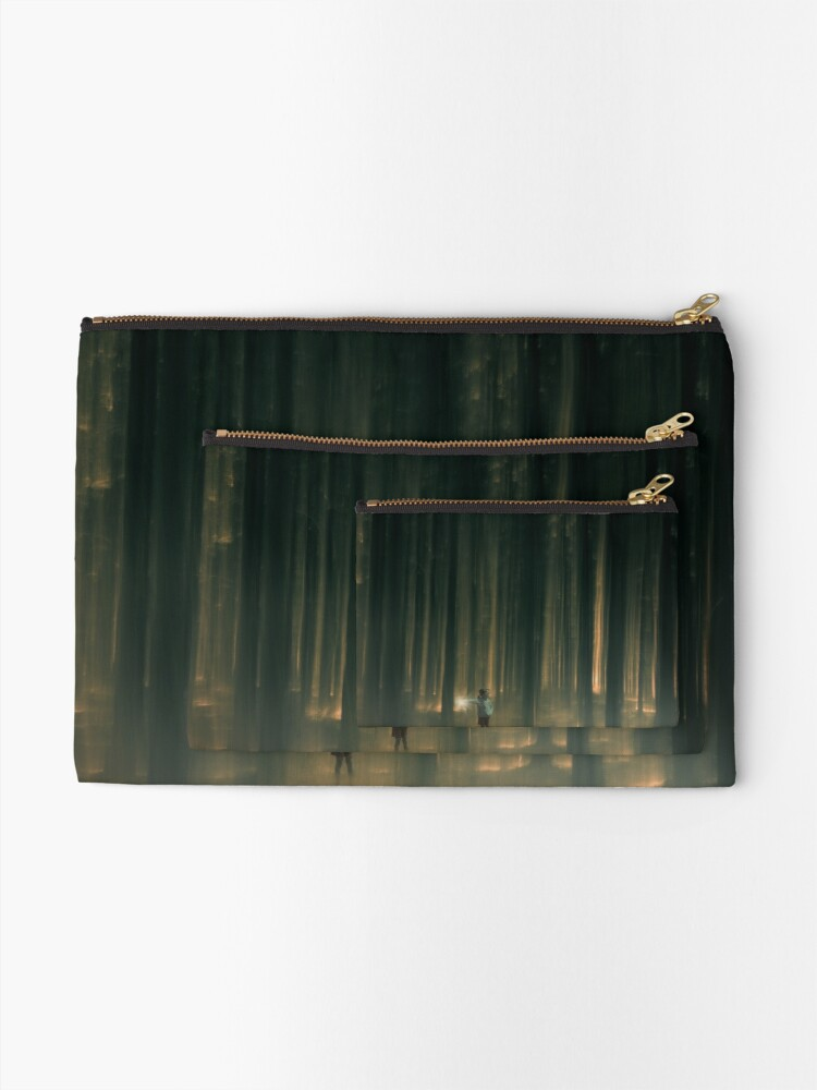 Alternate view of lost Zipper Pouch