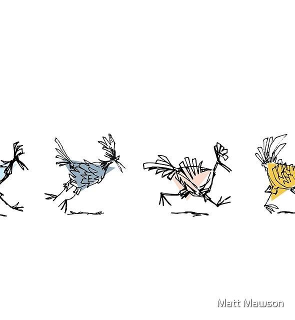 feeding time by Matt Mawson
