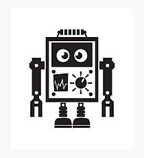 Cute Robot 2 Photographic Print