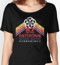 EPCOT Shirt - Distressed Logo - Entertain Inform Inspire Women's Relaxed Fit T-Shirt