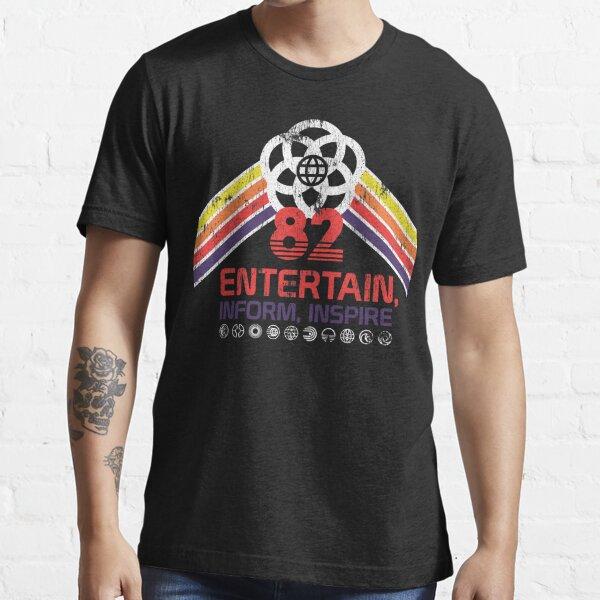 EPCOT Shirt - Distressed Logo - Entertain Inform Inspire Essential T-Shirt