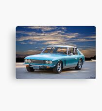 1974 Jensen Interceptor Series III Saloon Canvas Print