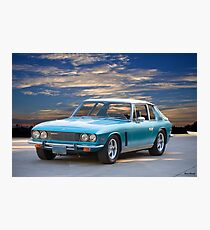 1974 Jensen Interceptor Series III Saloon Photographic Print
