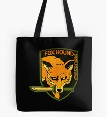 ° METAL GEAR SOLID ° Fox Hound Rust Logo Tote Bag