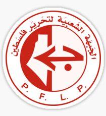 P.F.L.P. Sticker