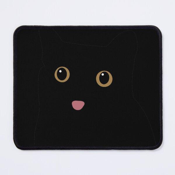 Void Black Cat Blep - Funny Cat Memes Mouse Pad