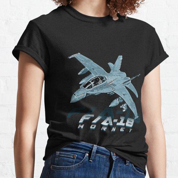 F18 Hornet Fighter Jet  Classic T-Shirt