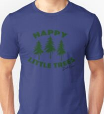 Happy Little Trees Unisex T-Shirt