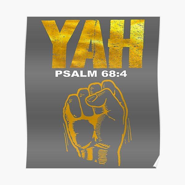 Hebrew Israelite Yah Clothing Yahweh Poster