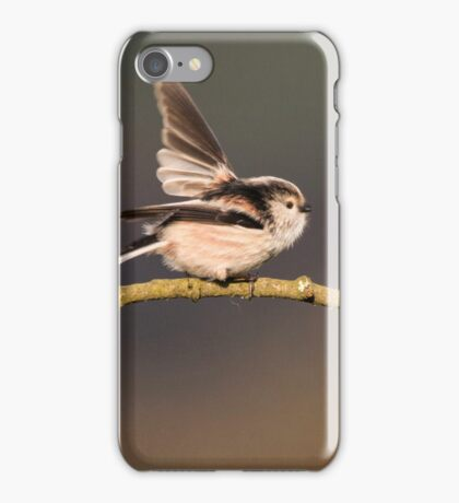 Long-tailed tits iPhone Case/Skin