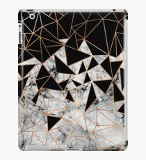 Marmor-Polygon-Muster iPad-Hülle & Skin