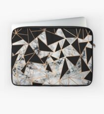 Marmor-Polygon-Muster Laptoptasche