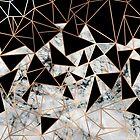 Marble polygon pattern by MartaOlgaKlara