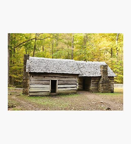 Ephraim Bales Cabin Photographic Print