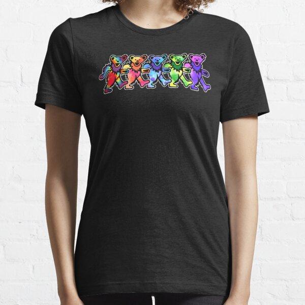 Dancing Grateful Rock Bears Essential T-Shirt