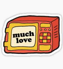 Much Love - Microwave Sticker