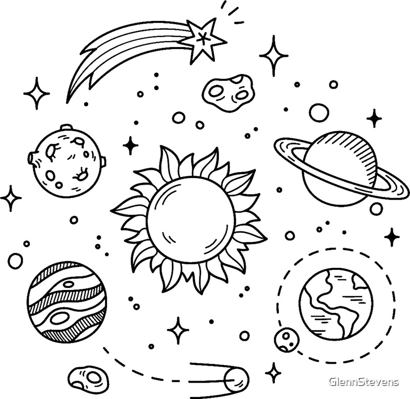 It's just a photo of Sassy Space Art Drawing