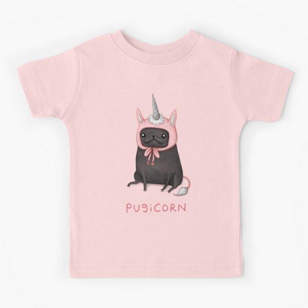 Pugicorn Kids T-Shirt
