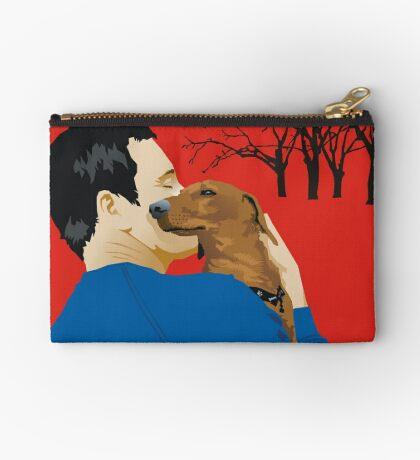 the dachshund whisperer Studio Pouch