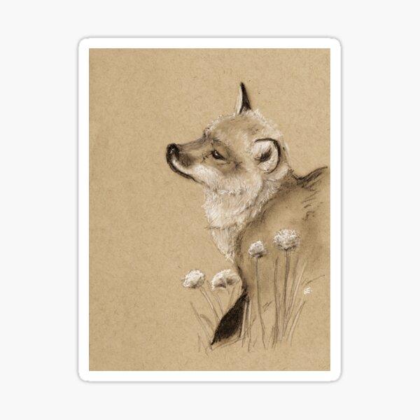 Baby Fox Sticker