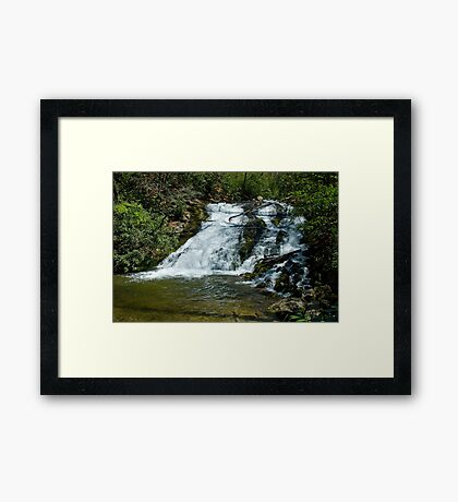 Indian Creek Falls Framed Print