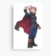 Pokemon Dragon Trainer Lance  Canvas Print