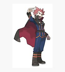 Pokemon Dragon Trainer Lance  Photographic Print